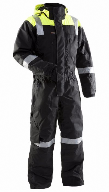 Blaklader 6786 Shell Coverall (Black/Yellow)